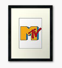 MTV Logo 1 Framed Print