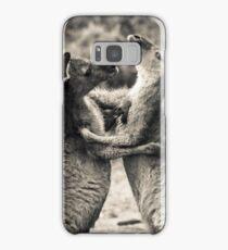 Fighting Kangaroo's, Perth hill's, Western Australia Samsung Galaxy Case/Skin