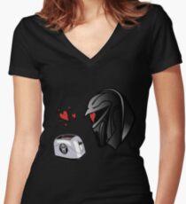 Cylon Lovin' Women's Fitted V-Neck T-Shirt