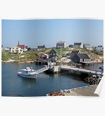 Peggy's Cove, Nova Scotia Poster