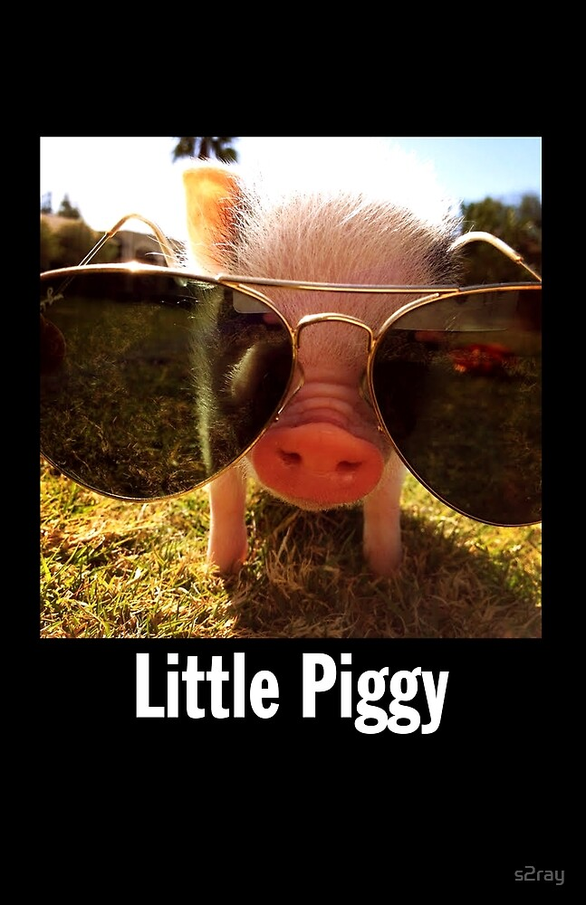 Little Piggy by s2ray