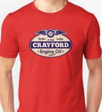 Crayford Engine Oil Unisex T-Shirt