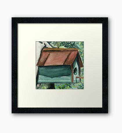Tallac Birdhouse 1 Framed Print