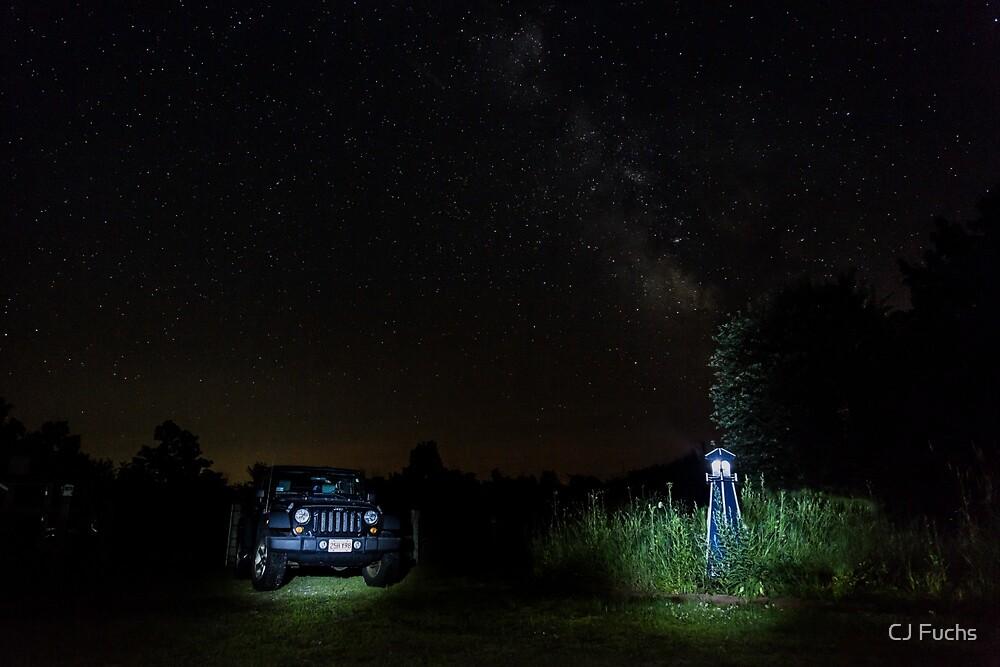 Jeep Astrophotography by CJ Fuchs