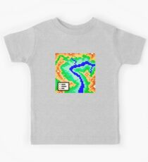 Pixel Topography Kids Tee