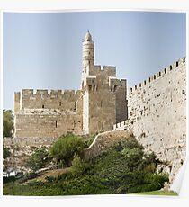 Tower of David, Jerusalem Poster