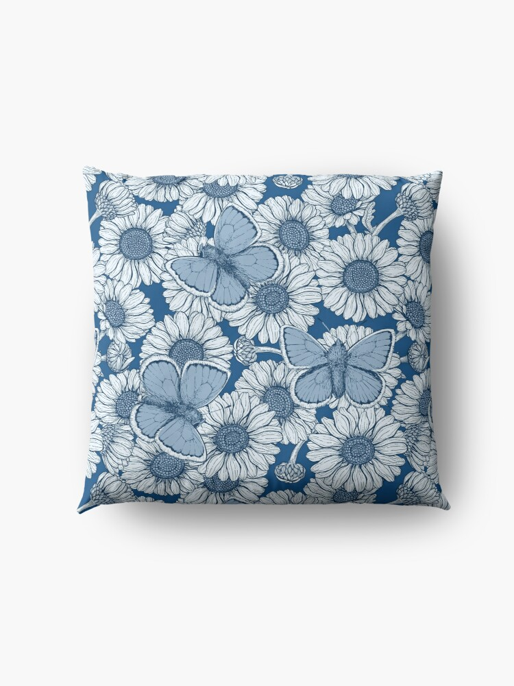Alternate view of Classic blue spring Floor Pillow