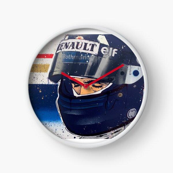 Damon Hill - Williams F1 graffiti painting by DRAutoArt Clock