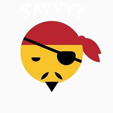 Savvy? Pirate Emoticon by nikkolen