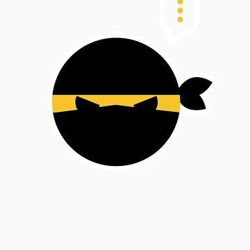 Ninja Emoticon by nikkolen