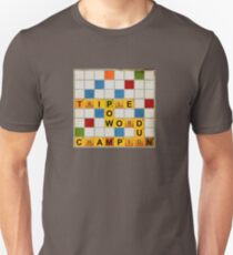 Triple Word Champion Unisex T-Shirt