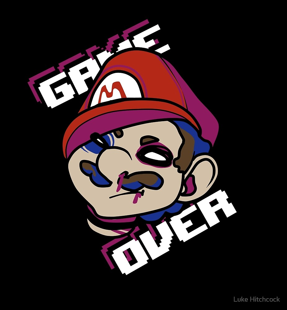 Mario - GAME OVER by Lucas Hitchcock