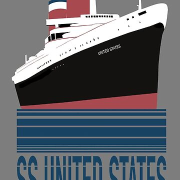 The SS United States - Bon Voyage by southfellini