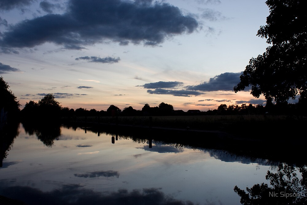 Sunset over Culham by Nic Sipson