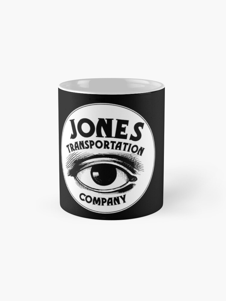 "Alternate view of Jones Transportation Co. Logo from ""Persephone's Torch"" Mugs"