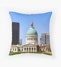Saint Louis Skyline (USA) Throw Pillow