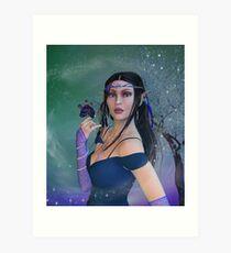 Elvin Woman Art Print