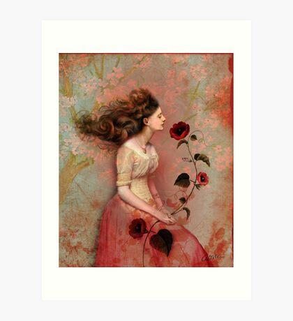 Blooming scent Art Print