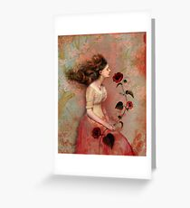 Blooming scent Greeting Card