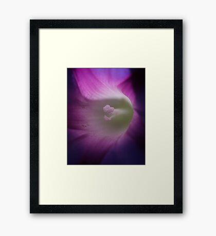 Self-Centered Framed Print