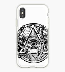 Alles sehende Auge / Evil Eye Triangle iPhone-Hülle & Cover
