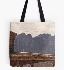 Superstitions from Goldfield HDR Tote Bag