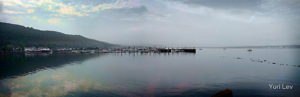 Hudson River Panorama by Yuri Lev