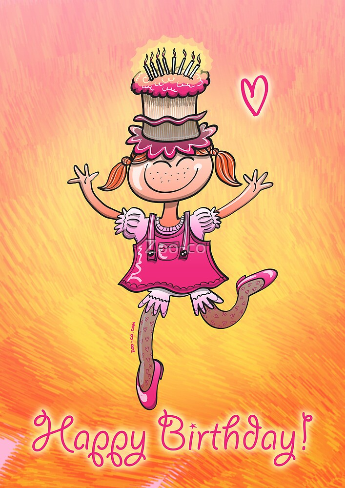 Happy Birthday Girl by Zoo-co