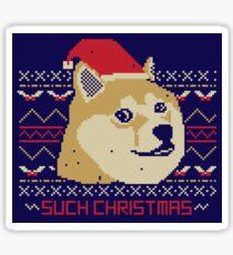 Such Christmas! Sticker