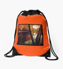 Cider Weather Drawstring Bag