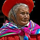 Peruvian grandmother by Konstantinos Arvanitopoulos