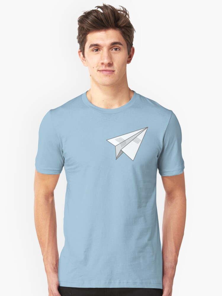 paperplane Unisex T-Shirt Front