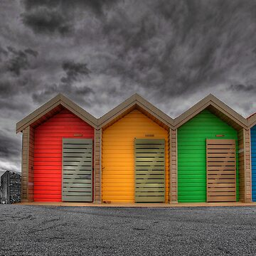 Beach Huts by neoquaid