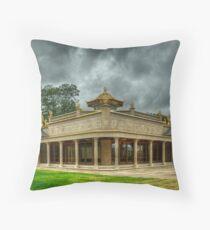 Kadampa World Peace Temple Throw Pillow