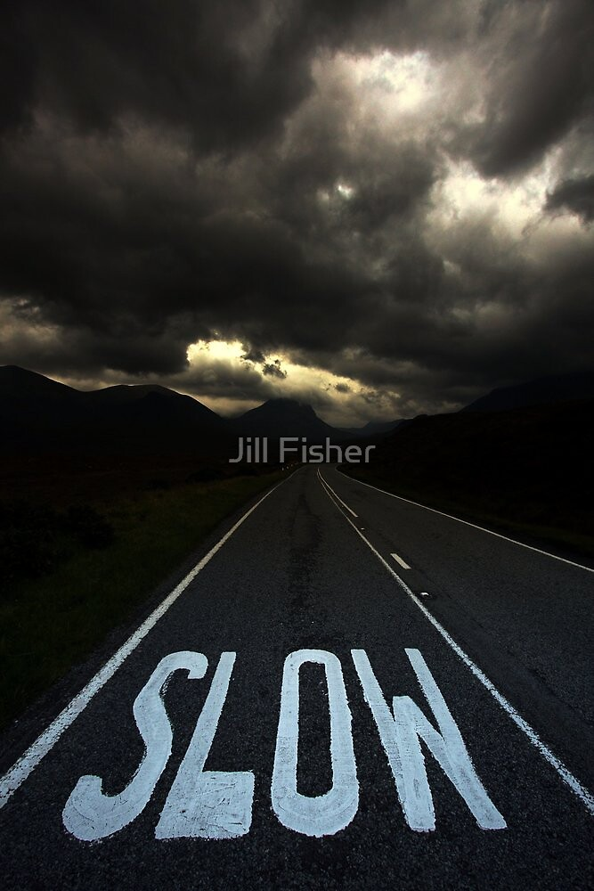 Slow Road to Skye by Jill Fisher