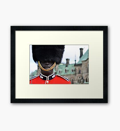 Ceremonial Guard of the Canadian Forces Framed Print