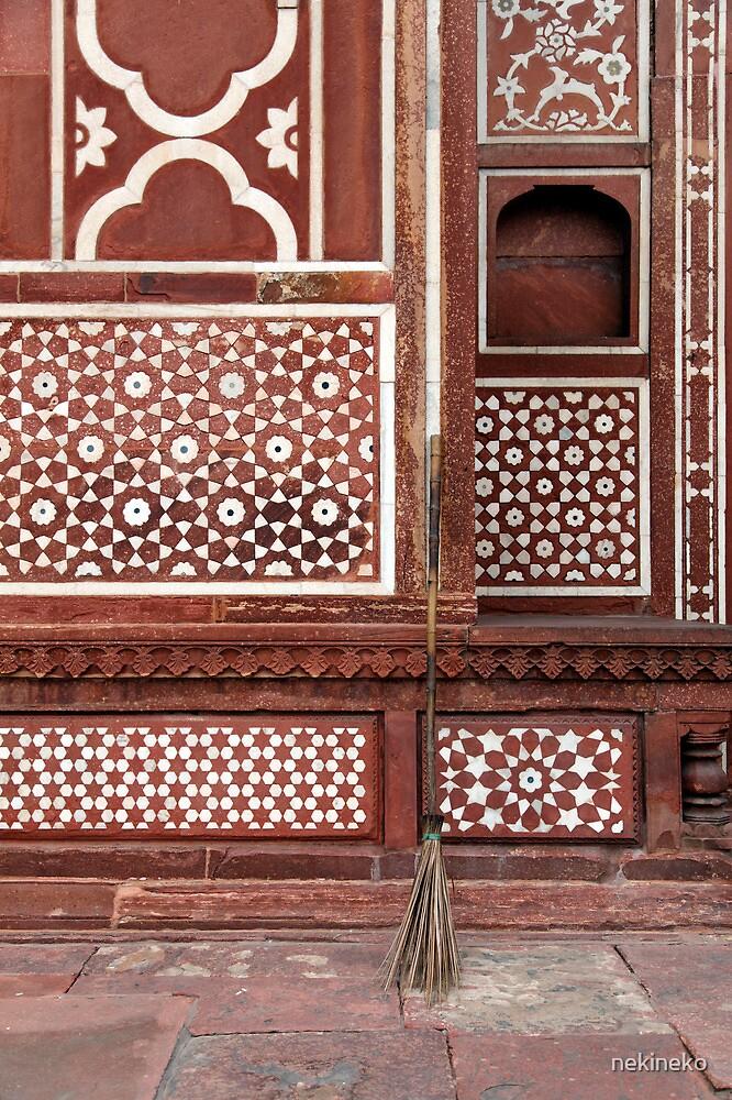 Gate of the Mausoleum of Itmad-ud-Daula, Agra by nekineko