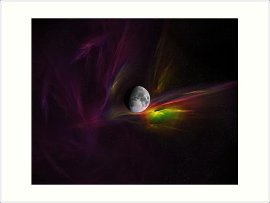 Bird of Paradise Nebula by Caitlin Peter