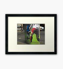Hockey Framed Print