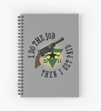 I Do The Job Spiral Notebook