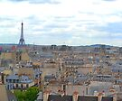 Paris Rooftops by Imagery