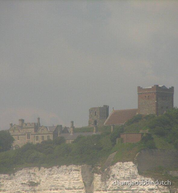castle by dover by daantjedubbledutch