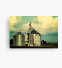 Midwestern Structure Canvas Print