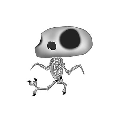 Skelebird by parrotproducts