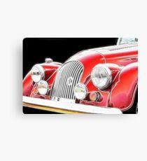 Morgan motor vehicle- classic car Canvas Print