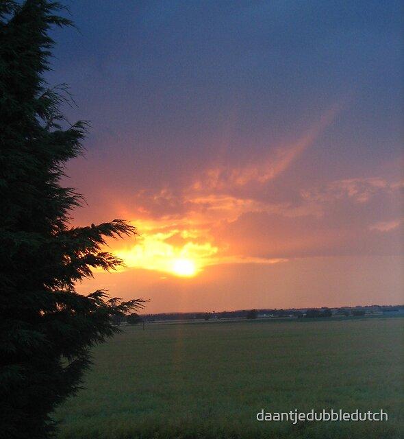 sunset in dowsby by daantjedubbledutch