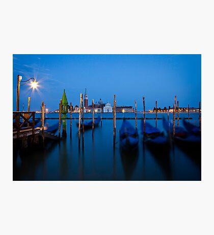 Venenzia Gondolas Photographic Print