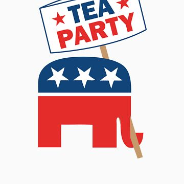 Tea Party Republican Shirt by RepublicanShirt