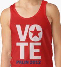 Vote Palin 2012 Tank Top