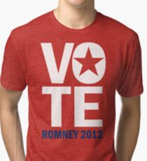 Vote Romney 2012 Tri-blend T-Shirt